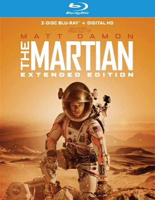 Martian, The: Extended Edition (Blu-ray + UltraViolet)