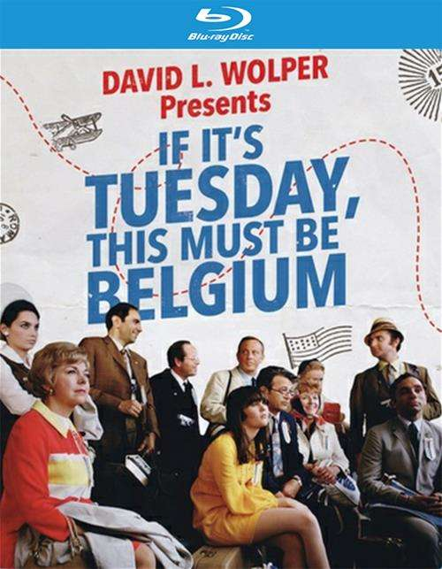 If Its Tuesday, This Must Be Belgium (Blu-Ray)