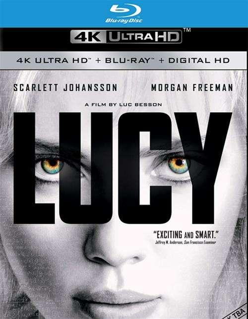 Lucy (4K Ultra HD + Blu-ray + UltraViolet)