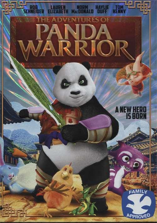 Adventures Of Panda Warrior, The (DVD + UltraViolet)