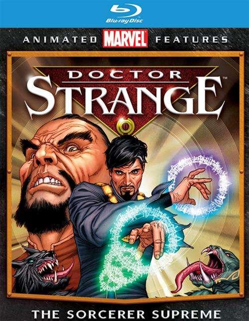 Dr. Strange (Blu-ray + UltraViolet)