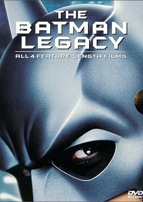 Batman Legacy, The: Batman/ Batman Returns/ Batman Forever/ Batman & Robin