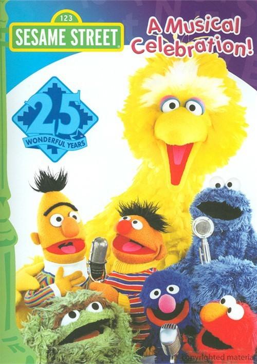 Sesame Streets 25th Birthday