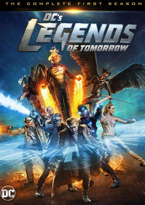 DCs Legends Of Tomorrow: The Complete First Season