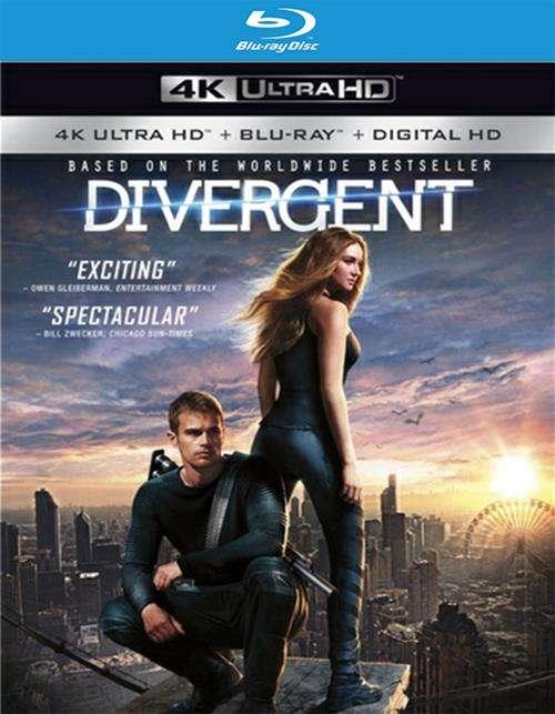 Divergent (Blu-ray + 4k + UltraViolet)