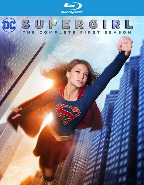 Supergirl: The Complete First Season (Blu-ray + UltraViolet)