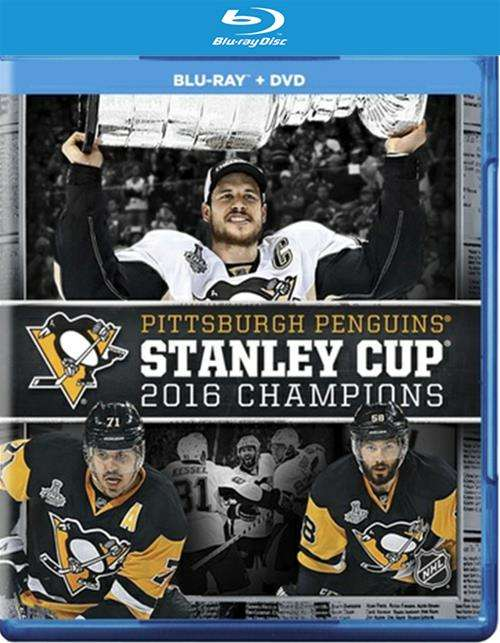 Nhl: 2016 Stanley Cup Champions (Blu-Ray + DVD)
