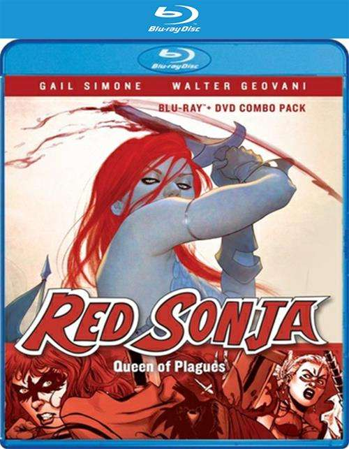 Red Sonja: Queen Of Plagues (Blu-Ray + DVD)
