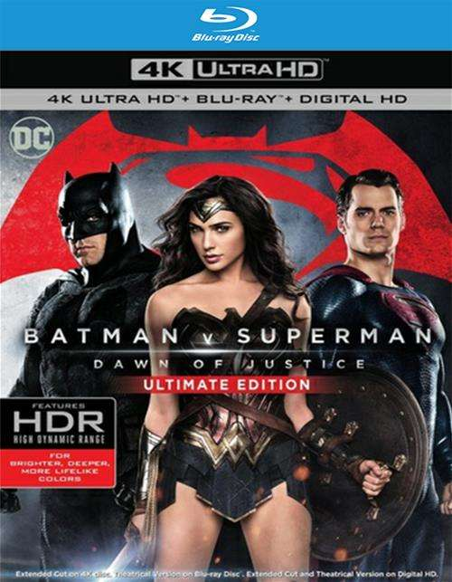 Batman V Superman: Dawn Of Justice (Blu-Ray + UltraViolet)