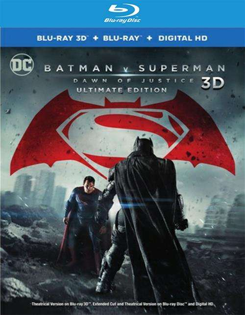 Batman V Superman: Dawn Of Justice (Blu-Ray + 3-D)