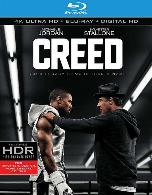 Creed (4K Ultra HD + Blu-ray + UltraViolet)