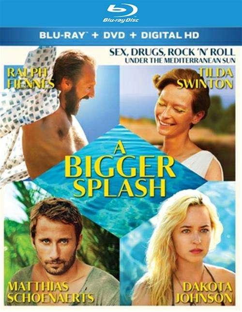 Bigger Splash, A (Blu-ray + DVD + UltraViolet)
