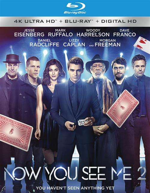 Now You See Me 2 (4K Ultra HD + Blu-ray + UltraViolet)