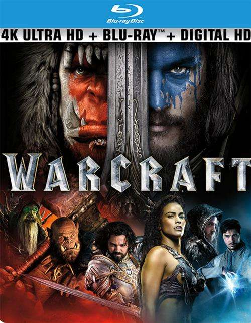Warcraft (4K Ultra HD + Blu-ray + UltraViolet)