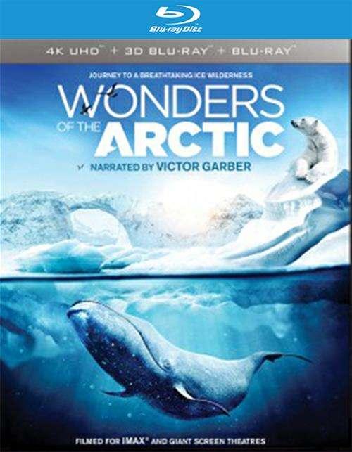 IMAX: Wonders Of The Arctic (4K Ultra HD + Blu-ray 3D + Blu-ray + UltraViolet)