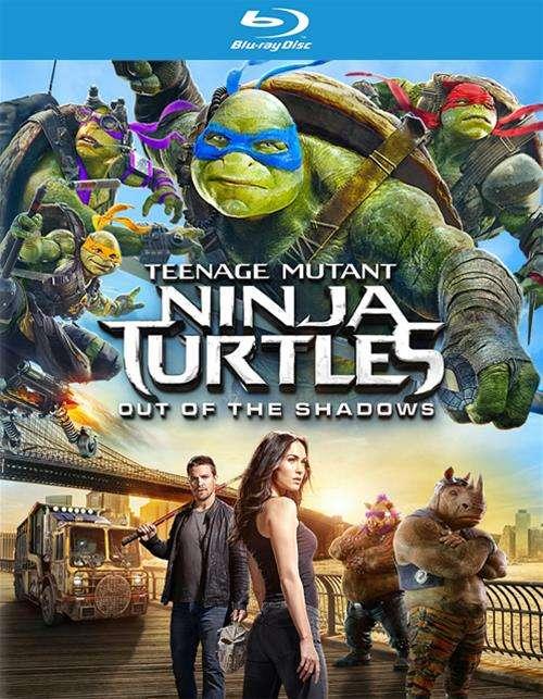 Teenage Mutant Ninja Turtles: Out Of The Shadows (Blu-ray + DVD + UltraViolet)
