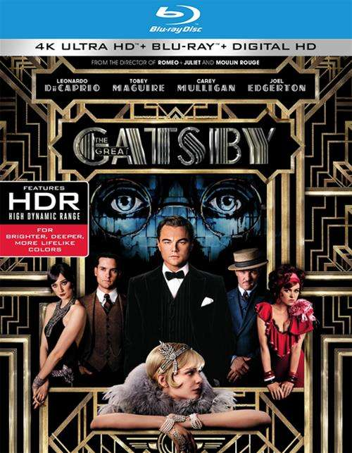 Great Gatsby, The (4K Ultra HD + Blu-ray + UltraViolet)