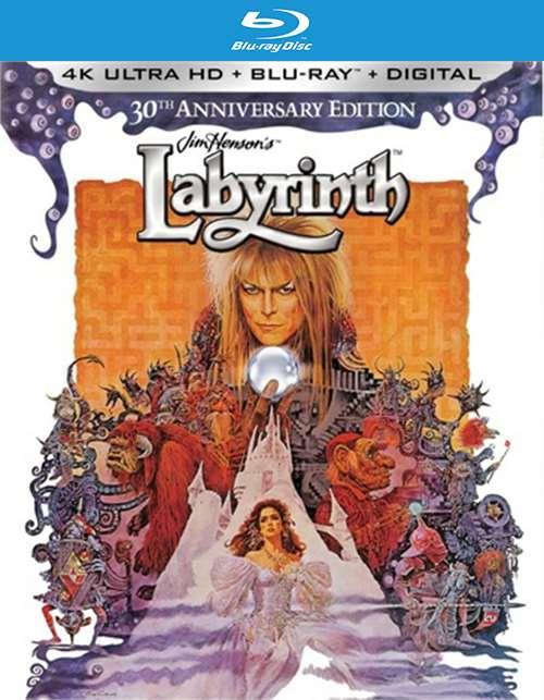 Labyrinth 30th Anniversary Edition (Blu-Ray + 4K-UHD)