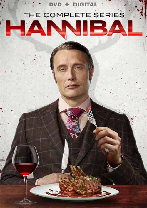 Hannibal: The Complete Seasons 1-3 (DVD + UltraViolet)