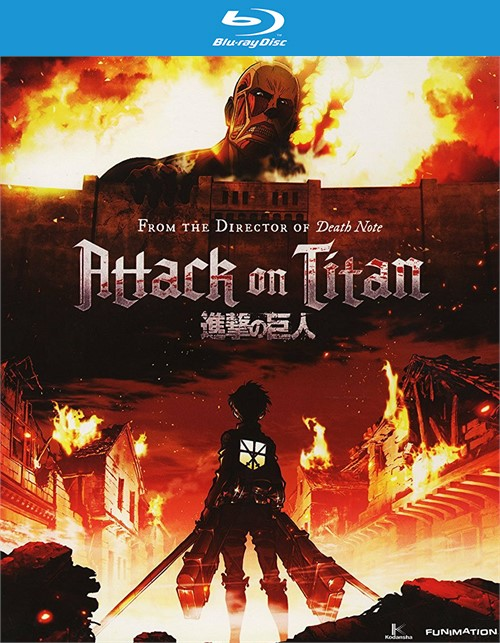Attack On Titan: Part 1 (Blu-Ray + DVD Combo Pack)