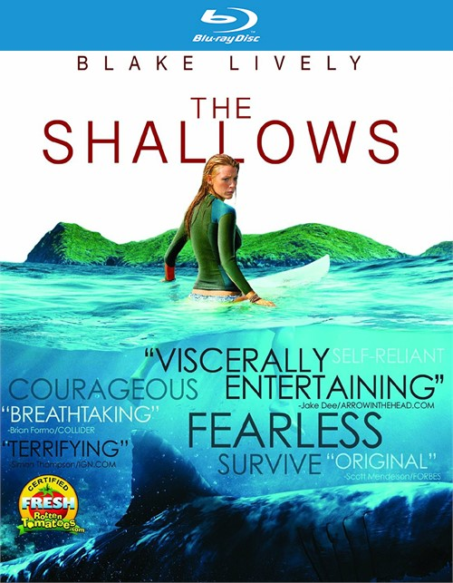 Shallows, The (Blu-Ray/4K-UHD/Ultrviolet)