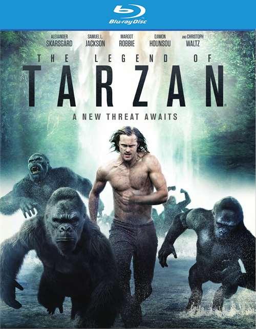 Legend Of Tarzan, The (Blu-ray + DVD + UltraViolet)