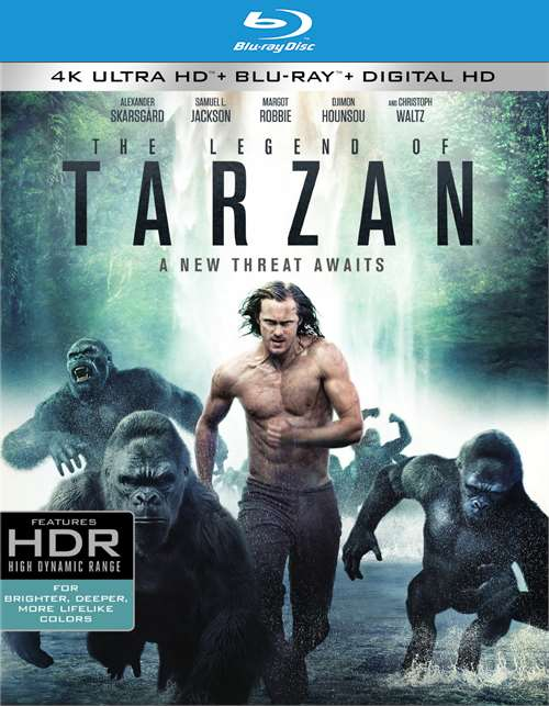 Legend Of Tarzan, The (4K Ultra HD + Blu-ray + UltraViolet)