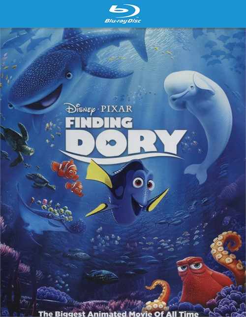 Finding Dory (Blu-ray + DVD + UltraViolet)
