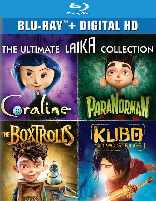 Ultimate Laika Collection, The (Blu-ray + UltraViolet)