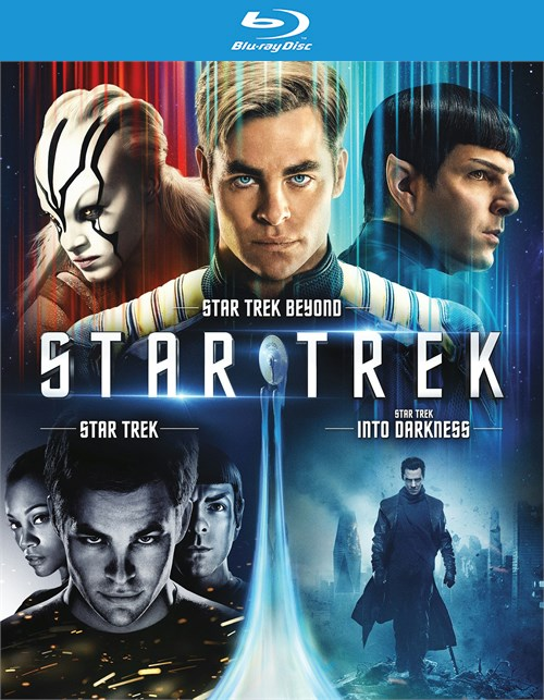 Star Trek Trilogy Collection (Blu-ray + UltraViolet)