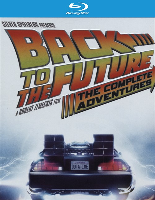 Back To The Future: The Complete Adventures (Blu-ray + UltraViolet)