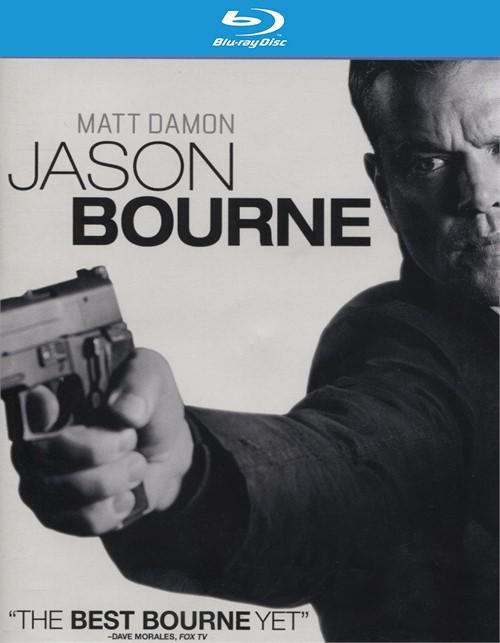 Jason Bourne (Blu-ray + DVD Combo + UltraViolet)