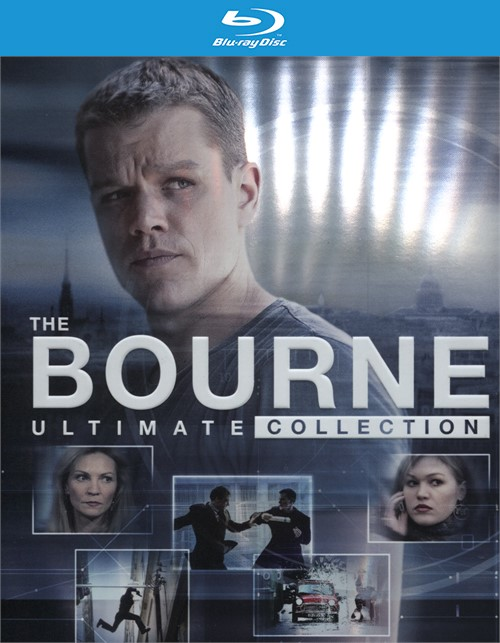 Bourne Ultimate Collection, The (Blu-ray + UltraViolet)