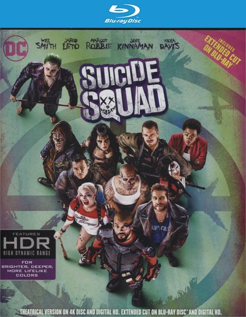 Suicide Squad (4K Ultra HD + Blu-ray + UltraViolet)