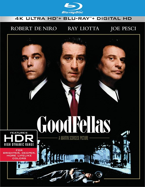 Goodfellas (4K Ultra HD + Blu-ray + UltraViolet)
