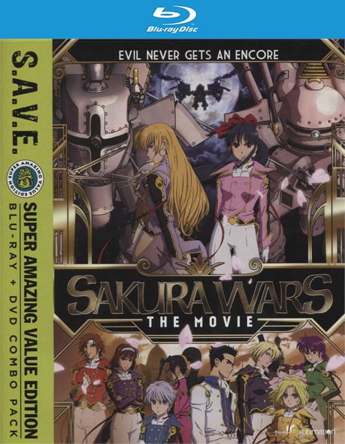 Sakura Wars: The Movie S.A.V.E. (Blu-ray + DVD Combo)