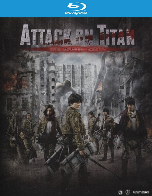 Attack on Titan Movie: Part 2 (Blu-ray + DVD + Ultra ...