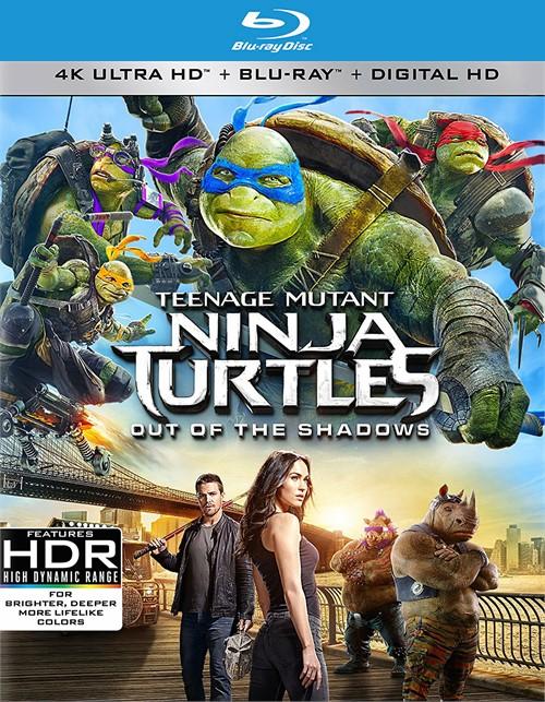 Teenage Mutant Ninja Turtles: Out Of The Shadows (4k Ultra HD+ Blu-ray + UltraViolet)
