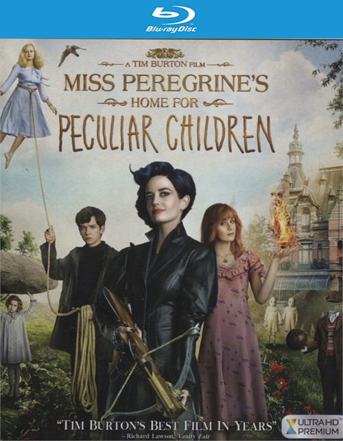 Miss Peregrines Home for Peculiar Children  (4K Ultra HD + Blu-ray + UltraViolet)