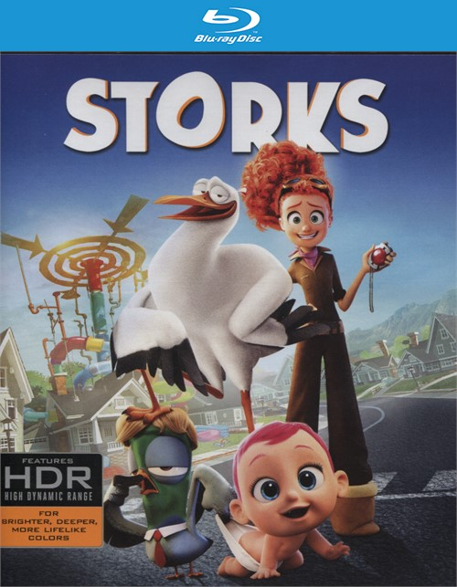 Storks (4K Ultra HD + Blu-ray + UltraViolet)