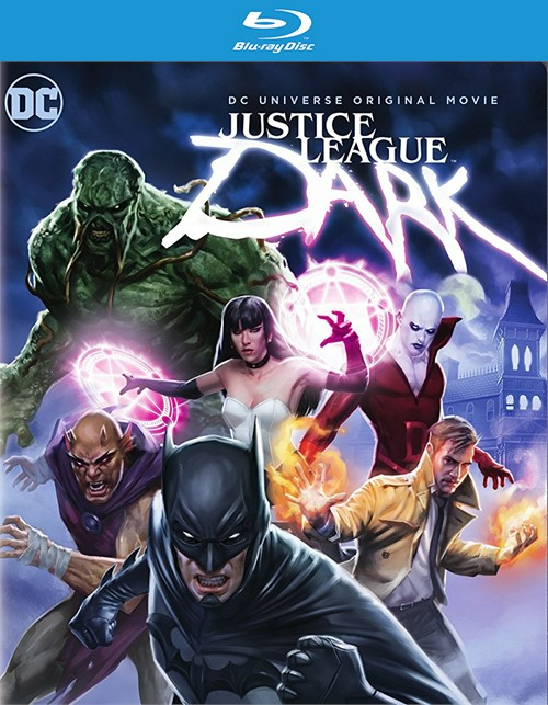 Justice League: Dark (Blu-ray + DVD + UltraViolet)