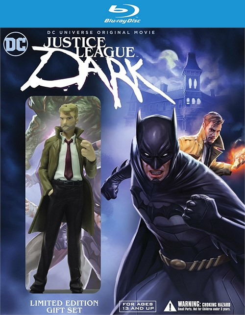 Justice League: Dark - Deluxe Edition (Blu-ray + DVD + UltraViolet)