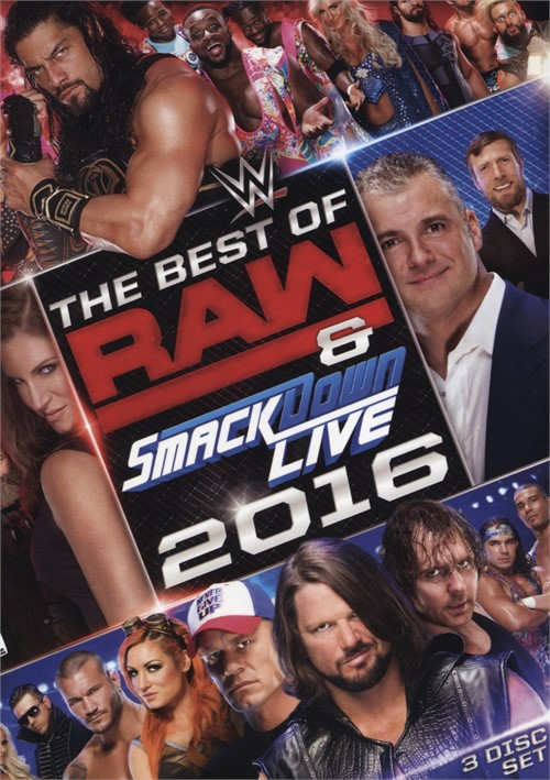 WWE: Best Of Raw & SmackDown 2016