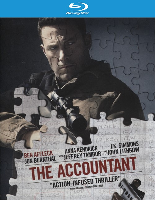 Accountant, The  (Blu-ray + DVD Combo + Digital HD Ultraviolet)
