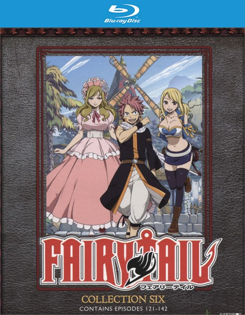Fairy Tail: Collection Six (Blu-ray + DVD Combo)