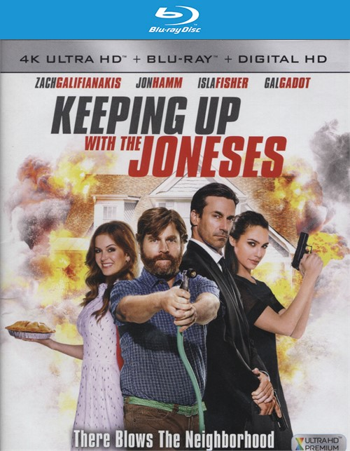 Keeping Up with the Joneses (4K Ultra HD + Blu-ray + UltraViolet)