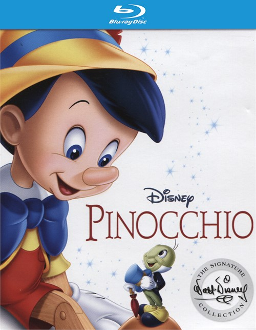 Pinocchio: Signature Collection (Blu-ray + DVD Combo + Digital HD)