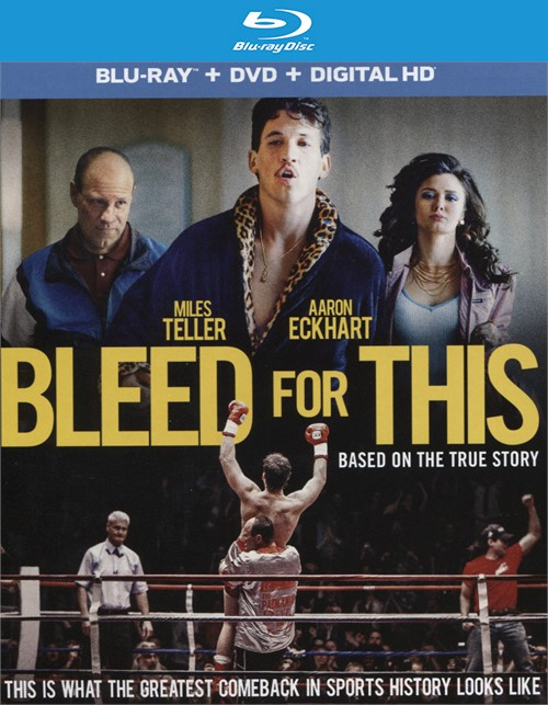 Bleed for This (Blu-ray + DVD + UltraViolet)