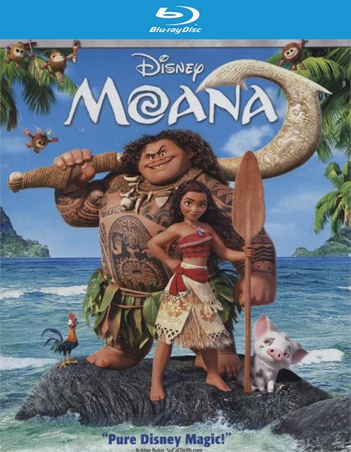 Moana (Blu-ray + DVD Combo + Digital HD)