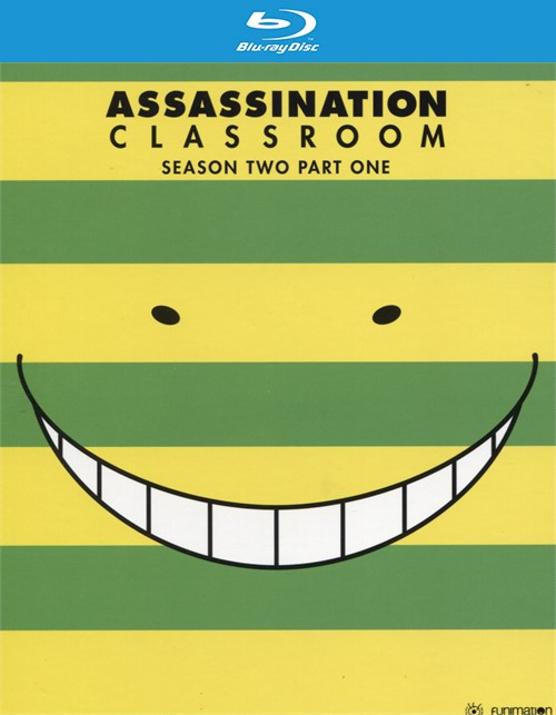 Assassination Classroom: Season 2, Part 1 (Blu-ray + DVD Combo)